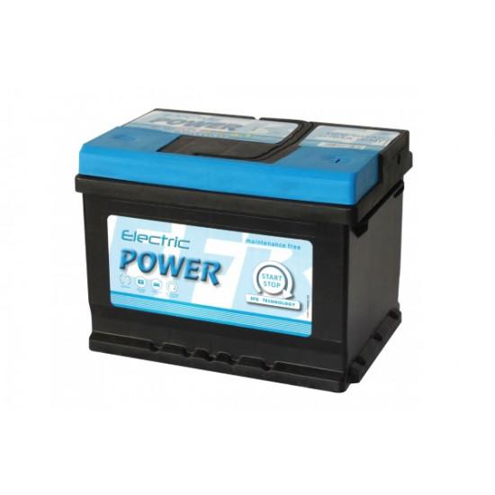 Electric Power  12V 60Ah 640A Jobb+ SMF EFB Start-Stop