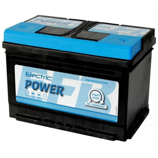 Electric Power  12V 65Ah 680A Jobb+ SMF EFB Start-Stop