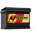Banner Running Bull AGM 12V 60AH 640A Jobb+ Akkumulátor