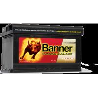 Banner Running Bull AGM 12V 80AH 800A Jobb+ Akkumulátor