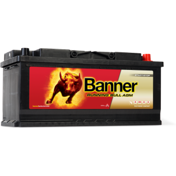 Banner Running Bull AGM 12V 105AH 950A Jobb+ Akkumulátor
