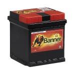 BANNER POWER BULL 12V 42Ah 390A Jobb+