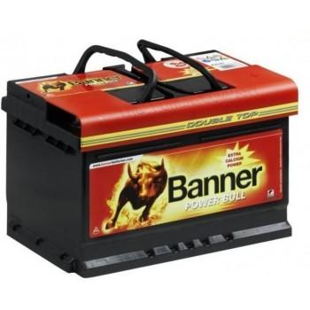 Banner Power Bull 12V 72AH 660A Jobb+