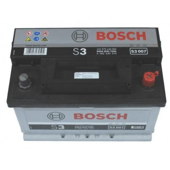 BOSCH Silver S3 12V 70Ah 640A Jobb+