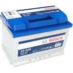 Bosch S4 12V 74Ah 680A Jobb+ (0092S40080)