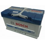 BOSCH Silver S4 akkumulátor, 12V 80Ah 740A, 0092S40100