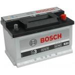 Bosch S3 12V 70Ah 640A Jobb+ (0092S30080)