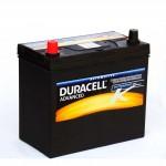Duracell Prémium 45Ah 390A Bal+ Japán
