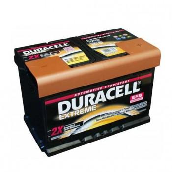 Duracell Extreme DE 70 EFB PRÉMIUM akkumulátor, 12V 70Ah 660A J+