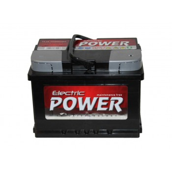 ELECTRIC POWER 12V 60Ah 500A Jobb+