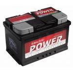 ELECTRIC POWER 12V 72Ah 680A Jobb+