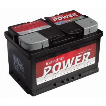 ELECTRIC POWER 12V 72Ah 680A Jobb+