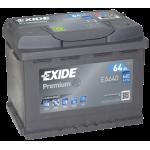 Exide Premium EA640 64Ah jobb