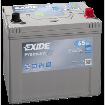 Exide Premium 12V 65Ah 580A Jobb+
