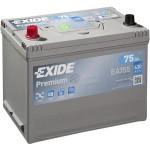 Exide Premium 75Ah 630A bal+ Ázsia (EA755)