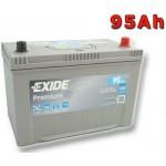Exide Premium 95Ah 800A Jobb+ Ázsia (EA954)
