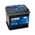Exide Excell EB500 50Ah Jobb EB500