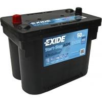 EXIDE AGM 12V 60AH START-STOP AKKUMULÁTOR JOBB+ EK600