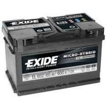 EXIDE ECM 12V 65AH AKKUMULÁTOR JOBB+ EL652