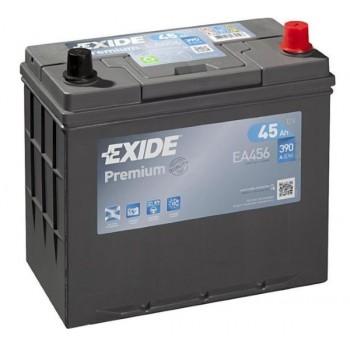 Exide Premium EA456 45Ah 390A jobb+ (EA456)