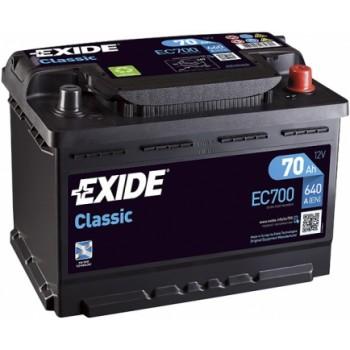 Exide Classic EC700 70Ah jobb