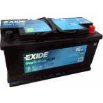 Exide Start-Stop AGM 95Ah 850A Jobb+ EK950