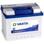VARTA D43 Blue Dynamic 60Ah 540A Bal+ (560 127 054)