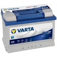 VARTA E45 Blue Dynamic EFB 70Ah 650A Jobb+ (570 500 065)