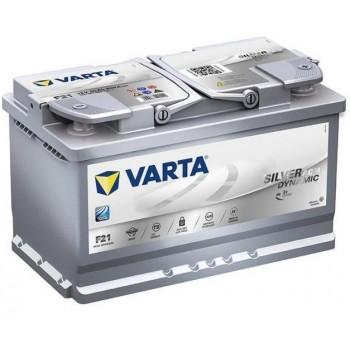 VARTA F21 Silver Dynamic AGM 80Ah 800A Jobb+ (580 901 080)